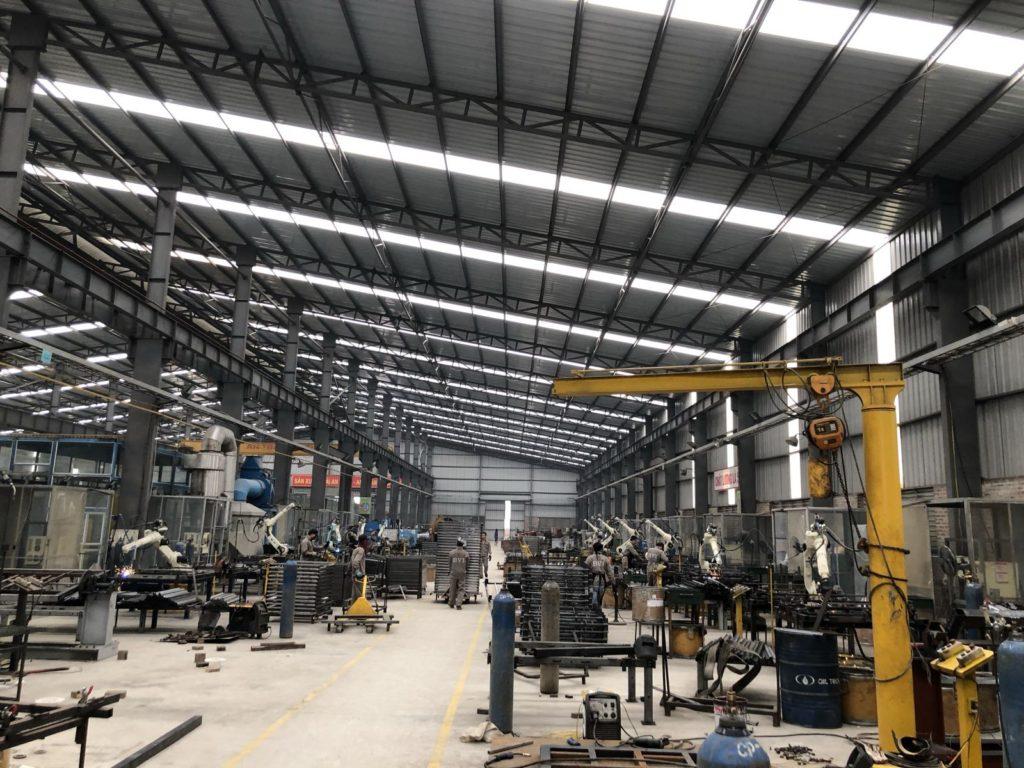 nhà máy sản xuất sản phẩm thép Bắc Việt